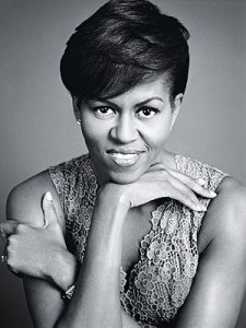 Michelle Obama en una foto de Marc Hom